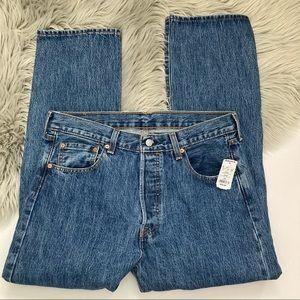 Levi's 501 Original Fit Men's Jeans 34x30 NWT